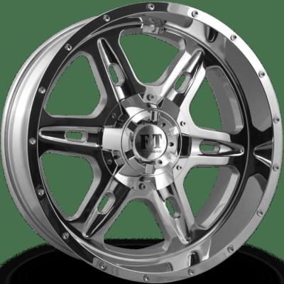 Full Throttle FT6054 Chrome Wheels