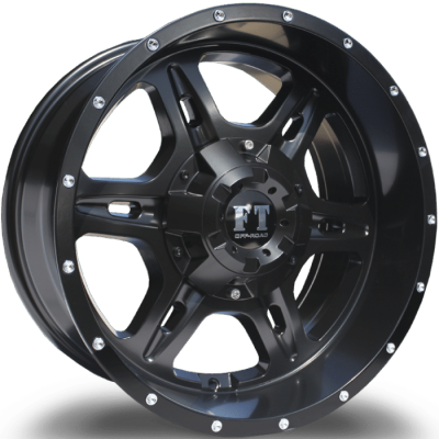 Full Throttle FT6054 Satin Black